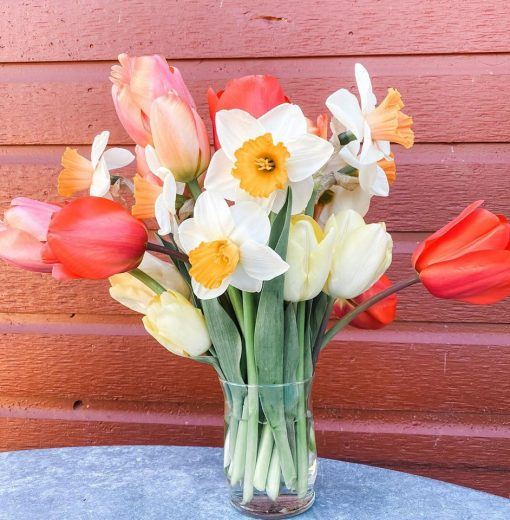 Bouquet of Daffodils and Tulips