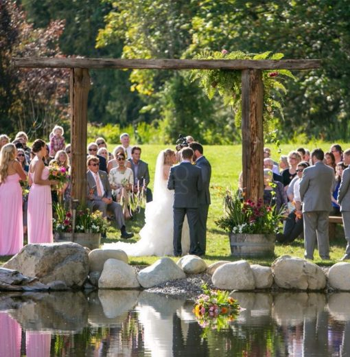 Ceremony by Pond