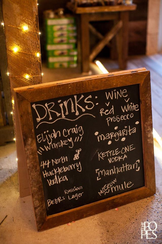 Drinks Sign