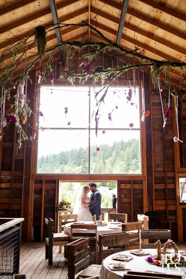 Bride & Groom in Loft